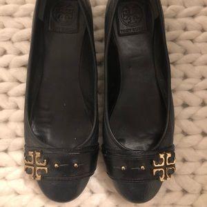 Navy Tory Burch Ballet Flats Sz 8